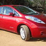 2011 Nissan Leaf all-electric vehicles are available for renting on Maui. Photo courtesy of Bio-Beetle.