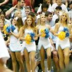 UCLA Cheerleaders. Photo by Wendy Osher.