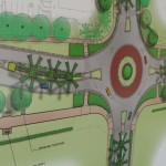 Roundabout rendering. Photo by Wendy Osher.