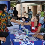 The Kama`aina Job Fair features companies seeking returning graduates and residents insterested in STEM jobs on Maui. Photo courtesy of MEDB.