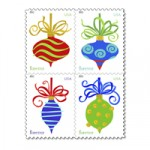 Holiday stamps. Photo courtesy of USPS.