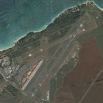 Satellite image of Kahului Airport. Image obtained from Google Maps.