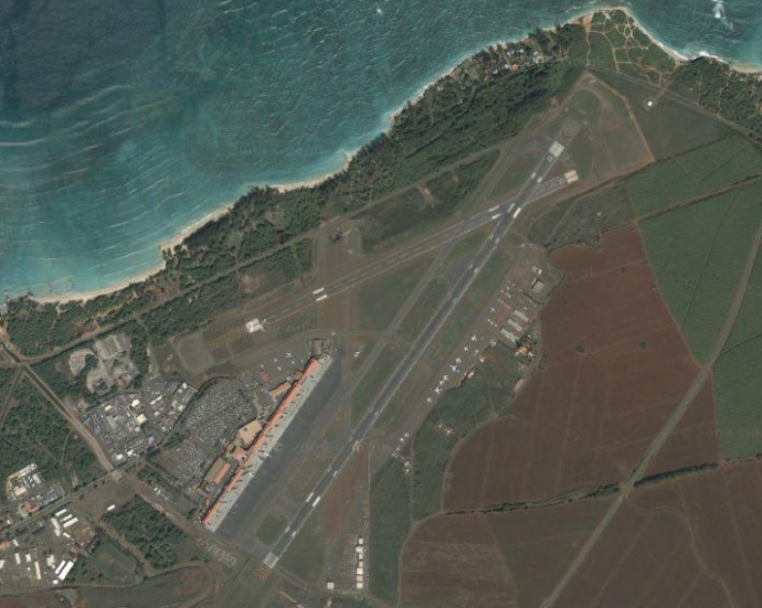 kahului-airport-map