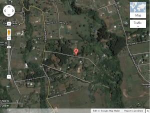 Kauhikoa Road. Map courtesy Google maps.