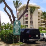 On Thursday, 12/22/11, at 9:55 a.m., a vehicle break-in was reported near Kaukahi Street and Makena Road at the Polo Beach Access Parking Lot.  File photo by Wendy Osher.