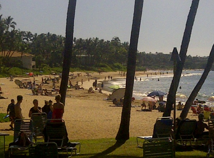 Keawakapu Beach. Maui. File photo by Sonia Isotov