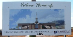 GYA rendering of new LDS church