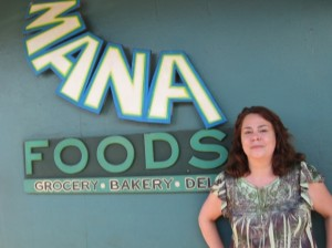 Mana Health Foods in Paia plans major renovations this year said store manager Theresa Thielk. Susan Halas photo.