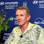 PGA TOUR Commissioner Tim Finchem spoke on Sunday at Kapalua. Stan Badz Photo/PGA TOUR.