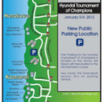 Hyundai Tournament of Champions parking.
