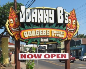 sign johnny b's paia