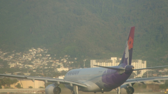 Hawaiian Airlines. File photo by Wendy Osher.