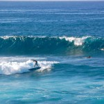 "Waves at ""Lanes,"" just to the left of Ho'okipa. Photo by Madeline Ziecker."