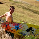 PHOTOS: Windsurfers Brave Rough North Shore Conditions