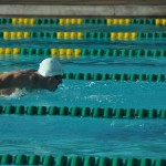 Seabury Hall's Renny Richmond drives toward the finish line of the Boys 100 Butterfly Saturday at the Kihei Aquatic Center.
