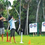 Travaasa Hana (formerly Hotel Hana-Maui) is now offering the island's only archery experience to its guests. Courtesy of Travaasa Maui.