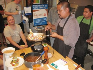 beef stew w taro