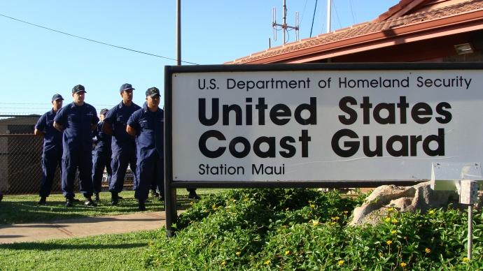 Coast Guard Station Maui at Maalaea, file photo by Wendy Osher.