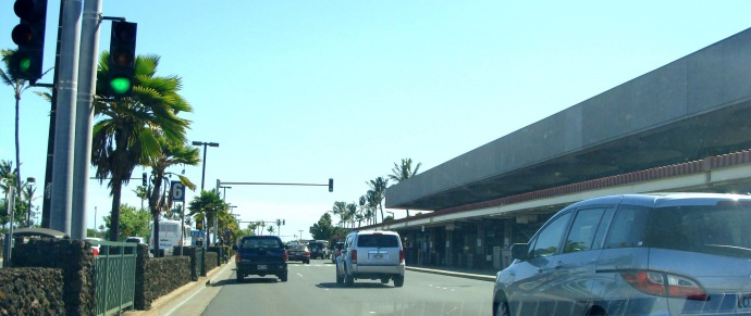 Kahului Airport, file photo by Wendy Osher.