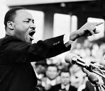 Martin Luther King. Courtesy Photo.