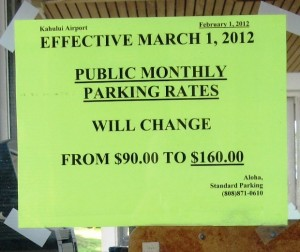 monthly rates going up