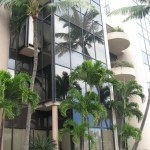 One Main Plaza, a luxury building with high rents is home to many County of Maui offices. Maui Now file photo.
