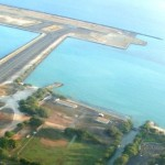 Honolulu International Airport, runway.  File photo by Wendy Osher.