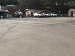 beautiful new pavement