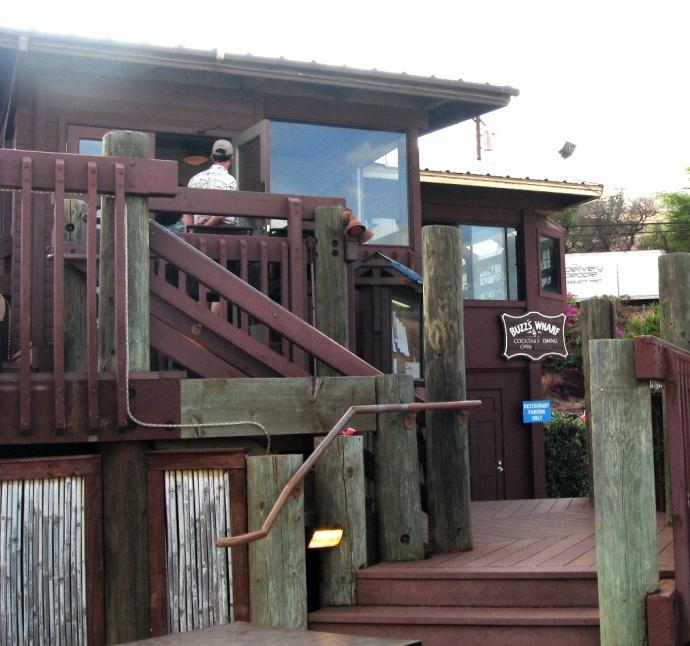 Buzz's Wharf exterior. File photo