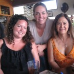 Girls Rule at Buzz's: Emily Koenig (Marketing), Marla Braun-Miller (GM), Fran Lew (Special Events & Catering). Susan Halas photo.
