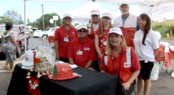 Red Cross, Maui. File photo by Wendy Osher.
