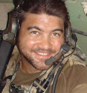 Explosive Ordnance Disposal Senior Chief Kraig M.K. Vickers, one of 22 US service members killed in action, August 6, 2011 in Afghanistan. Provided by the Vickers 'Ohana.