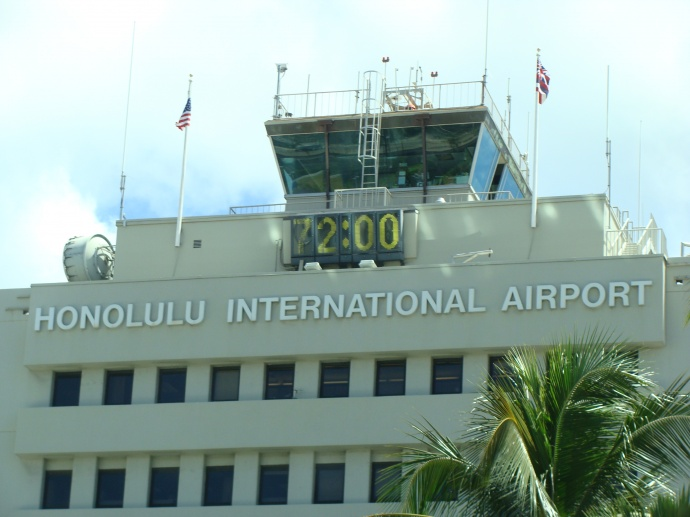 Honolulu International Airport. File photo by Wendy Osher.