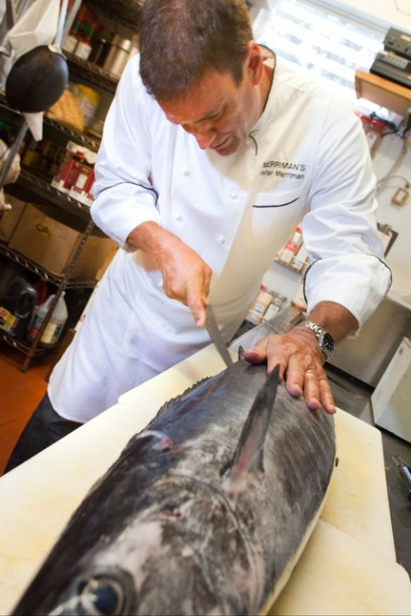 Maui now merriman s restaurants use sustainable seafood for Merriman s fish house
