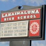 Lahainaluna High School. File photo by Wendy Osher.