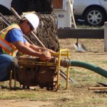 Crews from the Department of Water Supply will work in Kula on a tie-in project on Thursday, August 16.  File photo by Wendy Osher.
