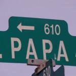 Papa Intersection at Hina Converted into an All-Way Stop