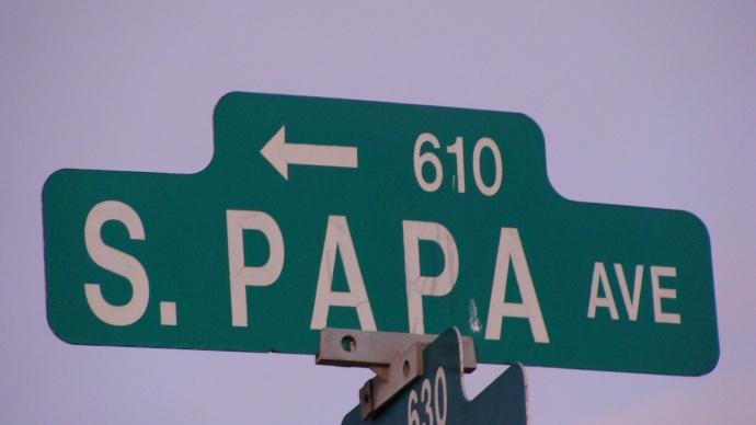 South Papa Avenue, Kahului. Photo by Wendy Osher.