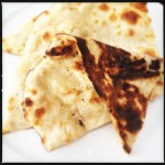The naan.