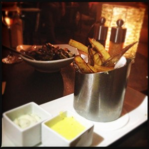French fries at Duo