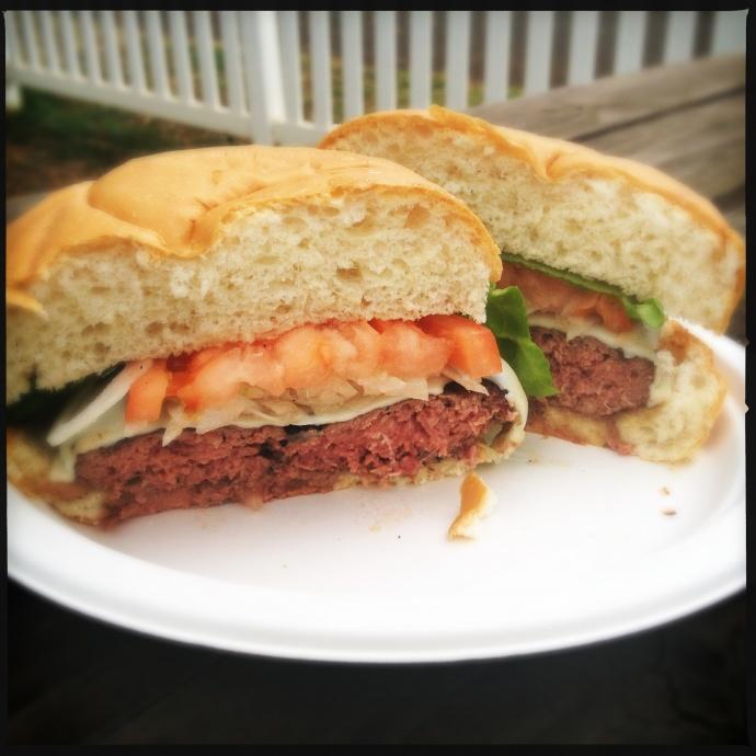 Elk Burger Ulupalakua Ranch