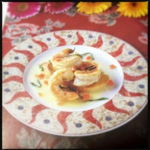 Shrimp Longhi - Longhi cookbook version