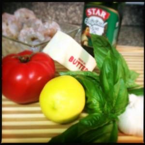 Shrimp Longhi ingredients