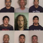 Top row (l to r): Scott Rosario, Lyle Richards, Khanhnha Vanhtha.  Middle row (l to r): Justin Chock, Gavin Petrie, David Yokoyama.  Bottom row (l to r): Clyde Imai, Cary Rosario, Thomas Borges. Courtesy photots.
