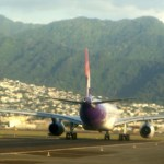 Hawaiian Airlines plane. File photo by Wendy Osher.