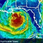 Isaac. Imagery courtesy NOAA.