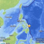 Philippines Islands earthquake, Thursday, August 31, 2012.  Map courtesy USGS.