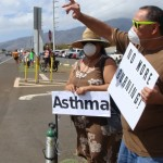 VIDEO: Cane Burning Protesters Don Gas Masks and Oxygen Tanks