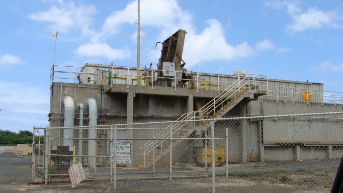 Kahului Wailuku Wastewater Treatment Plant, photo by Wendy Osher.