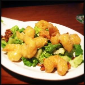 Honey Walnut Shrimp: Tiffany's Bar and Grill